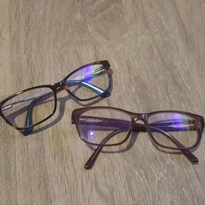 2 Pairs of Guess Glasses Lot